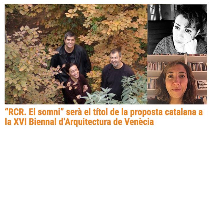GRAN NOTÍCIA !!! Co-comisariado del Pabellón de Cataluña_Bienal de Venecia 2018